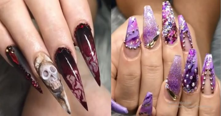 Decoración De Uñas Hermosas Tutorial 2019 Nail Art Designs